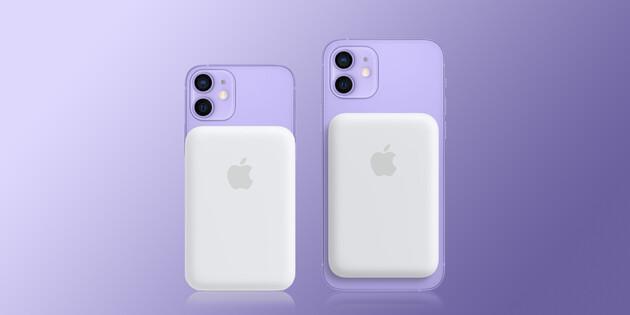 Apple выпустила внешний аккумулятор для iPhone 12