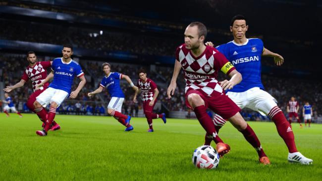 Konami может сделать игру Pro Evolution Soccer 2022 условно-бесплатной