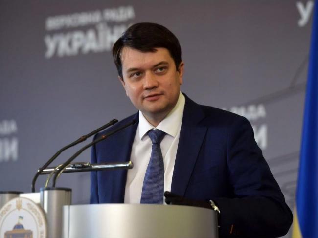 Разумков рассказал, какие изменения нужно внести в языковой закон