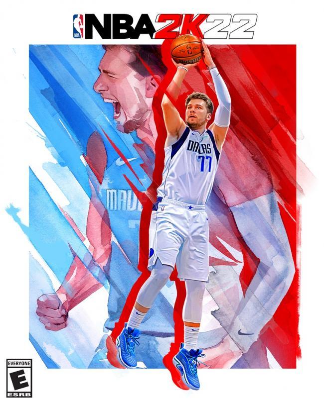 Звездный игрок «Далласа» Лука Дончич попал на обложку видеоигры NBA 2K22 (ФОТО)