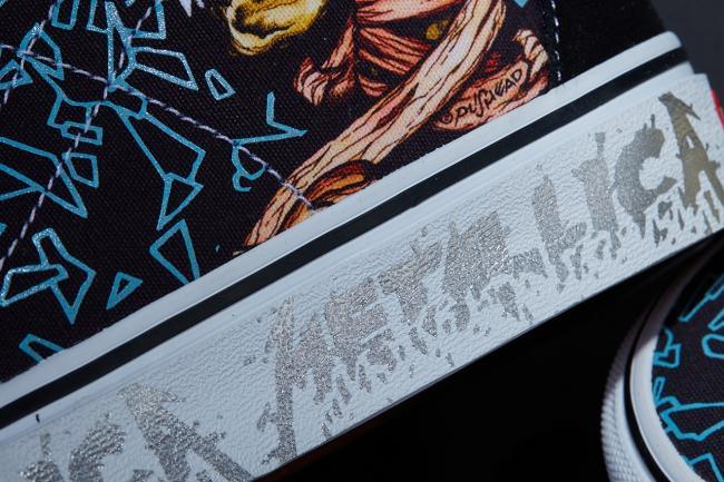 Vans и Metallica выпустят кеды в честь 30-летнего юбилея «Black Album» (ФОТО)