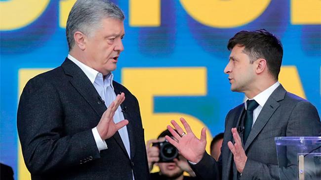 Зеленский vs Порошенко. В Украине составили рейтинг доверия к политикам