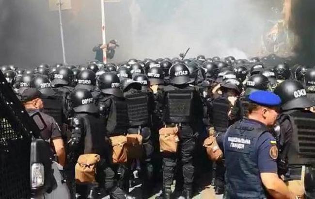 Столкновения под ОП: полиция возбудила уголовное дело