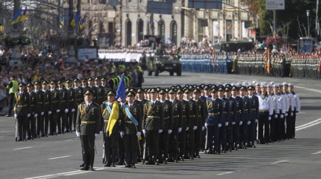 В Киеве трижды масштабно будут перекрывать движение из-за репетиций военного парада