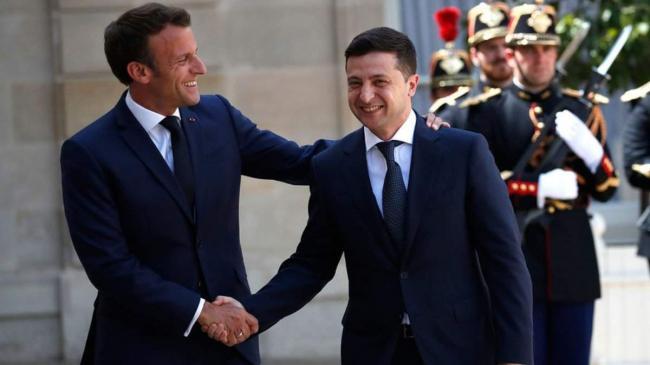 Франция подтвердила визит Макрона в Украину