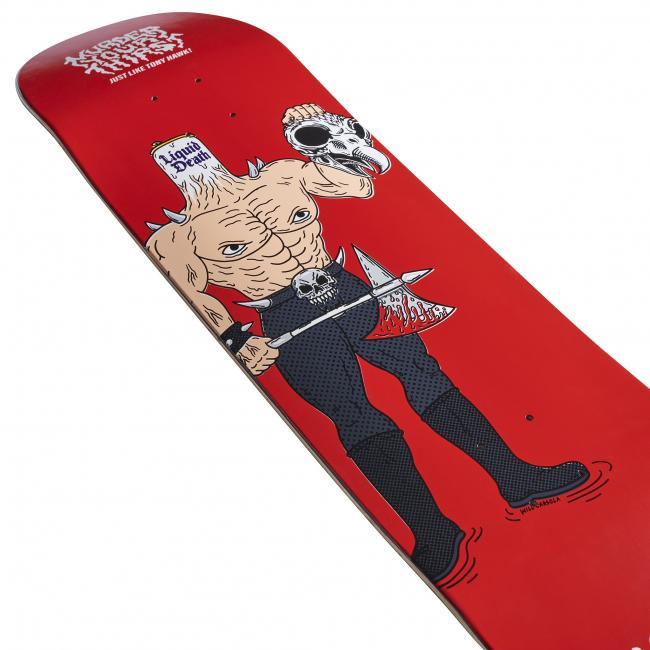 Скейтбордист Тони Хоук выпустил серию скейтбордов окрашенных его кровью (ФОТО)