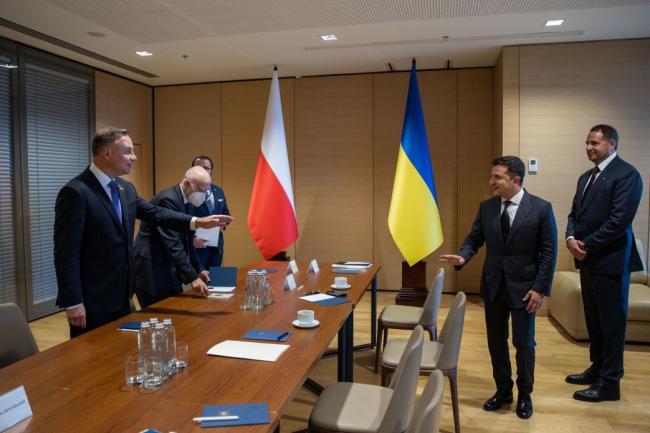 Зеленский и Дуда обсудили скоростной поезд между Киевом и Варшавой