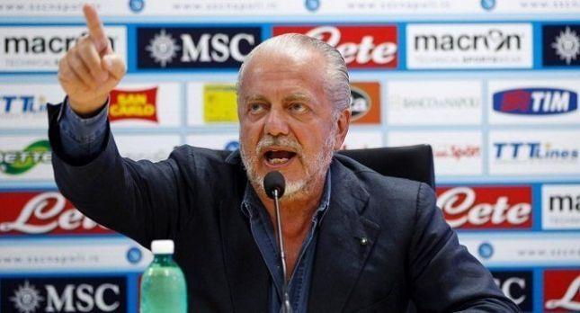 Президент «Наполи» призвал закрыть Лигу чемпионов и Лигу Европы