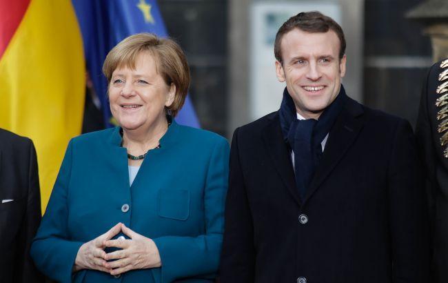 Меркель и Макрон проведут встречу. Обсудят и Украину