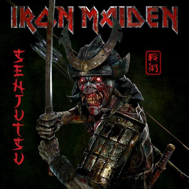 Легендарная британская группа Iron Maiden выпустила новый альбом