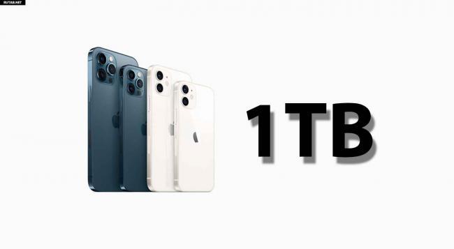 Apple представит iPhone с 1 терабайтом памяти