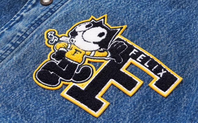 Levi's выпустили коллекцию с котом Феликсом — персонажем культового мультфильма шестидесятых (ФОТО)