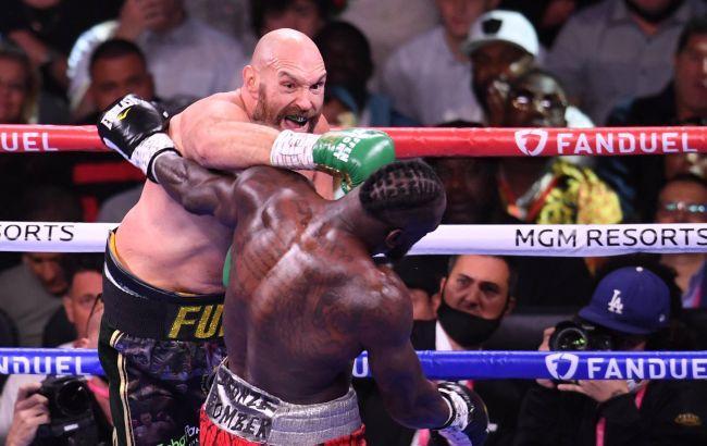 Фьюри нокаутировал Уайлдера в третьем поединке за пояс WBC