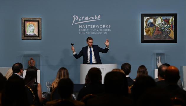 Шедевры Пикассо ушли с молотка в Вегасе почти за $110 миллионов (ФОТО)