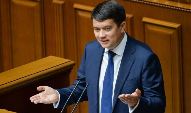 """Разумков обвинил """"Батькивщину"""" в договоренностях с Офисом президента"""