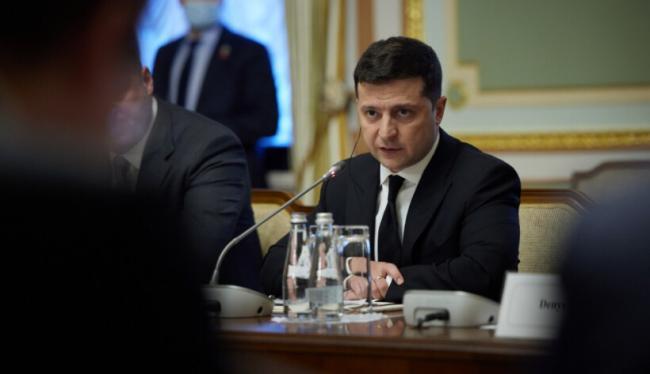 Украина и ЕС считают Россию ответственной за отсутствие прогресса на Донбассе, - Зеленский