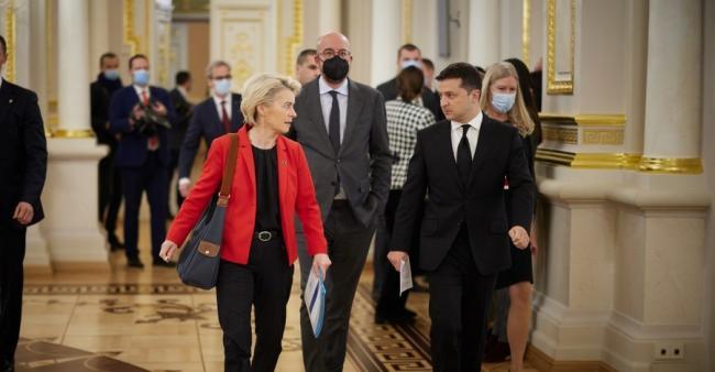 Лидеры ЕС и Зеленский ответили на вопрос о вступлении Украины в Евросоюз
